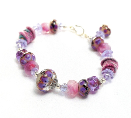 Plumeria Bracelet #1 meredith